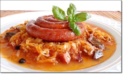 Deftiger Sauerkraut- Hackfleisch Eintopf mit Wurstschnecke - Rezept - Bild Nr. 2311