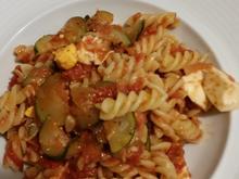 Vegetarische Pasta - Rezept - Bild Nr. 2349