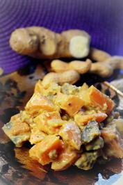 Indisches Kürbis-Erdnuss-Curry - Rezept - Bild Nr. 2395