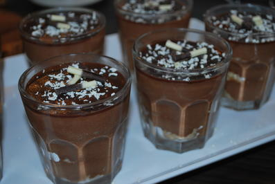 Schoko-Mousse-Trifle mit Schokoladenkaramell - Rezept - Bild Nr. 2407