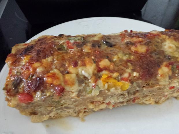 Pizzafleischkäse - Rezept - Bild Nr. 2458