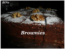 BiNe` S BROWNIES - Rezept - Bild Nr. 2497