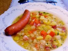 Kartoffelsuppe mit Rauchfleisch - Rezept - Bild Nr. 2491