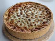 Apfel-Rahmkuchen mit Walnüssen - Rezept - Bild Nr. 2510