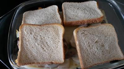 Rezept: Toast mit Käse und Pilzen