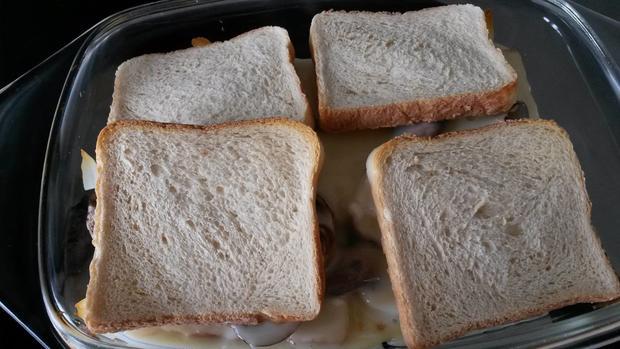 Toast mit Käse und Pilzen - Rezept - Bild Nr. 2634