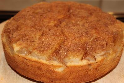 Weihnachtlicher Birnen-Marzipan-Kuchen - Rezept - Bild Nr. 2633