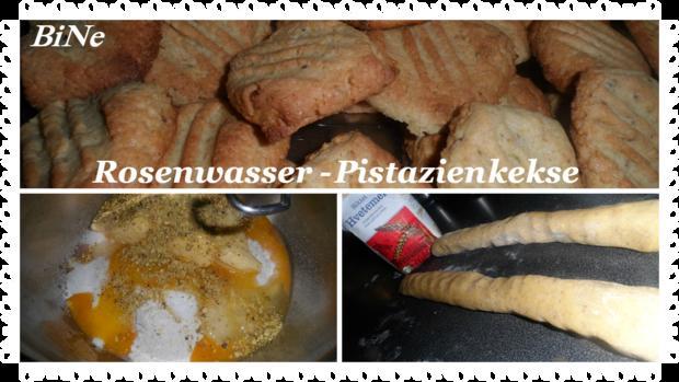 BiNe` S ROSENWASSER - PISTAZIENKEKSE - Rezept - Bild Nr. 2708