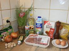 Fleischlaberln gebacken - Rezept