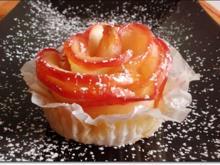 Apfel-Blätterteig-Rose - Rezept - Bild Nr. 2735