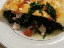 Blätterteigrolle mit Käse und Spinat - Rezept - Bild Nr. 2750
