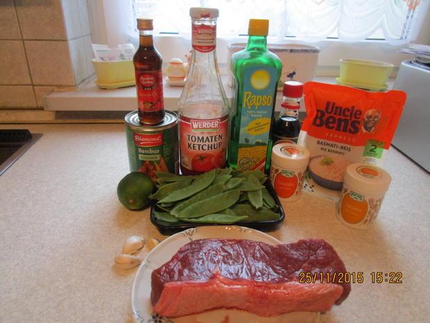 Asiatisch: Rindfleisch mit Bambussprossen - Rezept - Bild Nr. 2751