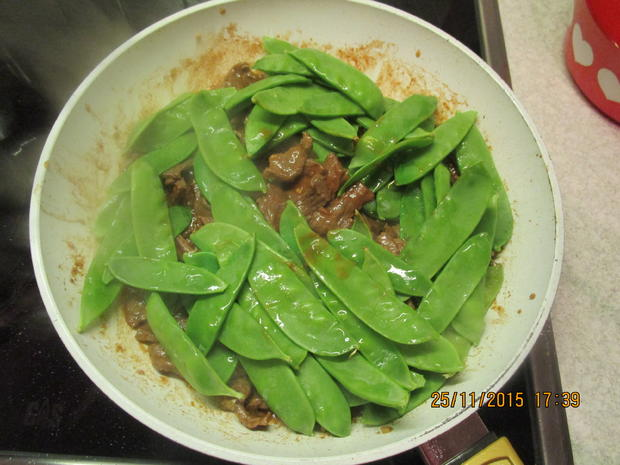 Asiatisch: Rindfleisch mit Bambussprossen - Rezept - Bild Nr. 2762