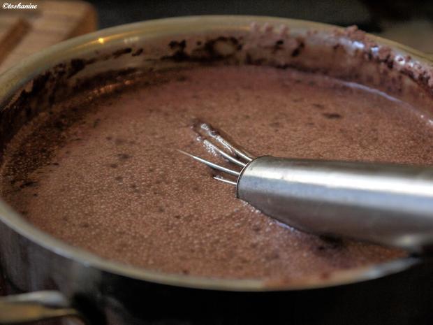 Kokos-Schokoladen-Pudding - Rezept - Bild Nr. 2780