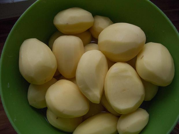Saarländische Küche: Kartoffelwaffeln (Grumbeerwaffeln)   Rezept   Bild Nr.  2779
