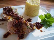 Schweinefilet mit Meerrettichkruste und Orangensoße - Rezept - Bild Nr. 2787