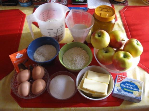 Apfelkuchen mit Kokosstreusel - Rezept - Bild Nr. 2795
