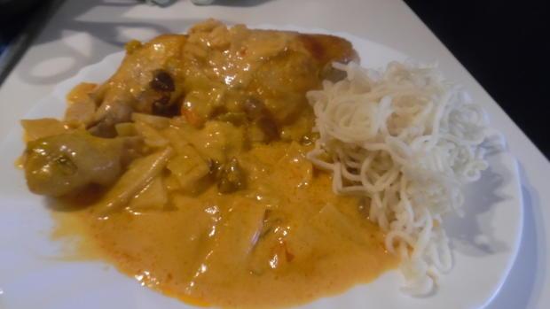 Hühner-Schenkel in Gemüse-Curry - Rezept - Bild Nr. 2794