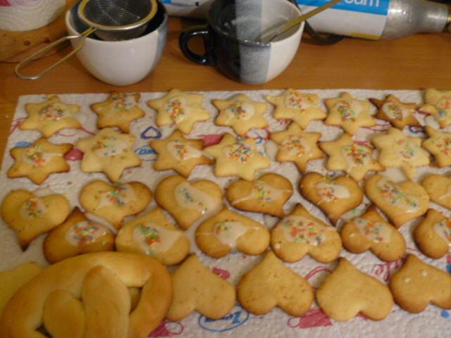 Rezepte Für Weihnachtskekse.Weihnachtskekse Aus Mürbeteig