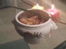 Gratinierte Zwiebelsuppe auf Italienisch, bayrische Art - Rezept - Bild Nr. 2862