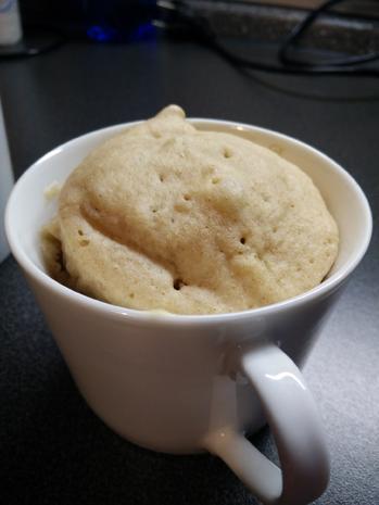 Apfel-Zimt-Mugcake - Rezept - Bild Nr. 2873