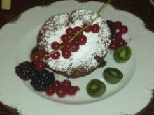 Schokoladentarte mit frischen Früchten - Rezept - Bild Nr. 2890