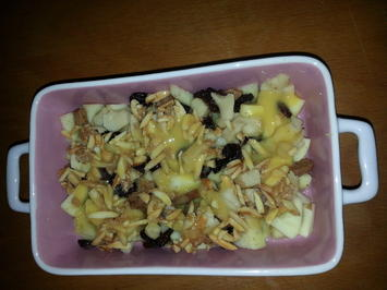Bratapfel Dessert - Rezept - Bild Nr. 2898