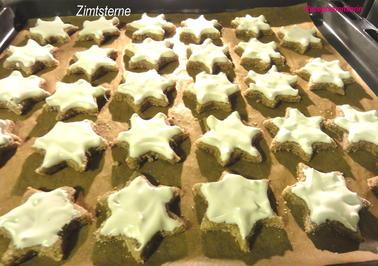 Rezept: Kekse:   ZIMTSTERNE
