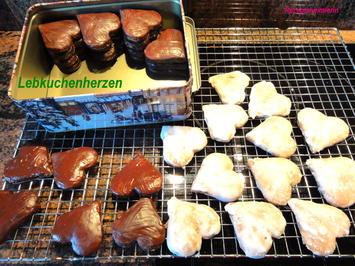 Kekse:   LEBKUCHEN ~ HERZEN - Rezept - Bild Nr. 2914