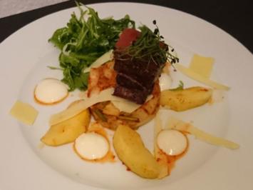 Kim Chi-Apfel-Salat mit Cola-Schweinebauch - Rezept - Bild Nr. 2912