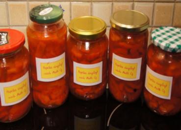 Rezept: Paprika eingelegt nach Mutti Cz