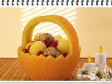 Exotisches  Obstkörbchen - zu jeder Jahreszeit - Rezept - Bild Nr. 2958