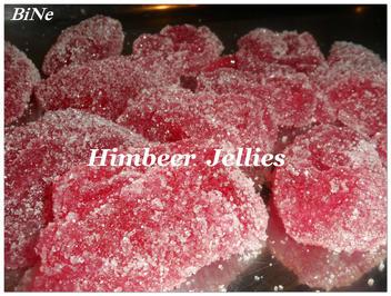 BiNe` S HIMBEER JELLIES - Rezept - Bild Nr. 2992