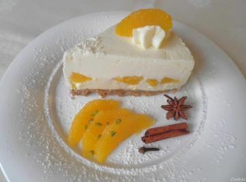 Kleine Quark - Sahne - Torte mit Gewürz - Orangen ... (Winter/Weihnachts - Torte) - Rezept - Bild Nr. 3003
