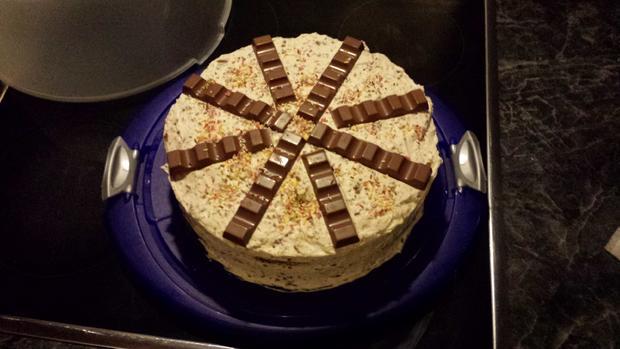 Einfache Ferrero Rocher Torte - Rezept - Bild Nr. 3054