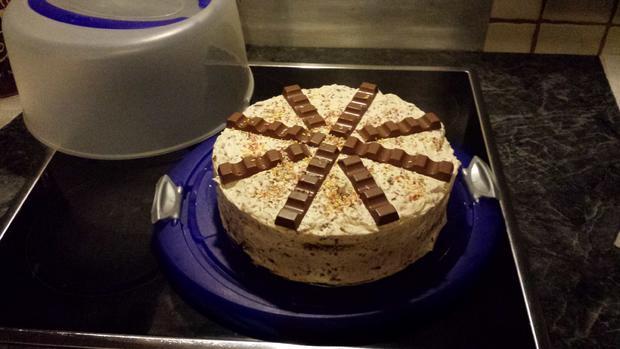 Einfache Ferrero Rocher Torte - Rezept - Bild Nr. 3055
