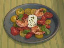 Tomatensalat mit Garnelen (Michael) - Rezept - Bild Nr. 3130