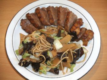 Fleisch: Entenbrust mit Bambussprossen - Rezept - Bild Nr. 3207