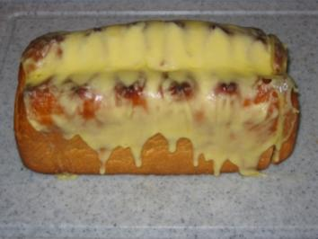 Pizzabrot - Rezept