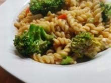Spirelli mit Erdnuss-Sauce - Rezept - Bild Nr. 3144