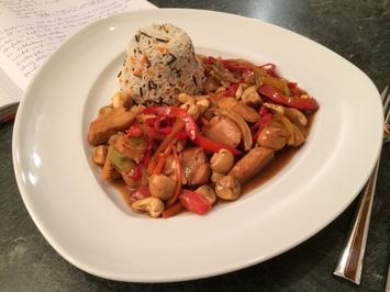 Rezept: Hähnchenbrust Gong Bao Style