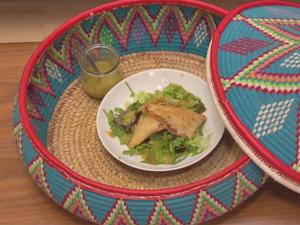 Sambusa - Teigtaschen mit roten Linsen und Mango-Ingwer-Chili-Dip - Rezept - Bild Nr. 3209