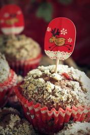 Weihnachtliche Lebkuchen-Preiselbeer-Muffins mit dem Thermomix - Rezept - Bild Nr. 3231