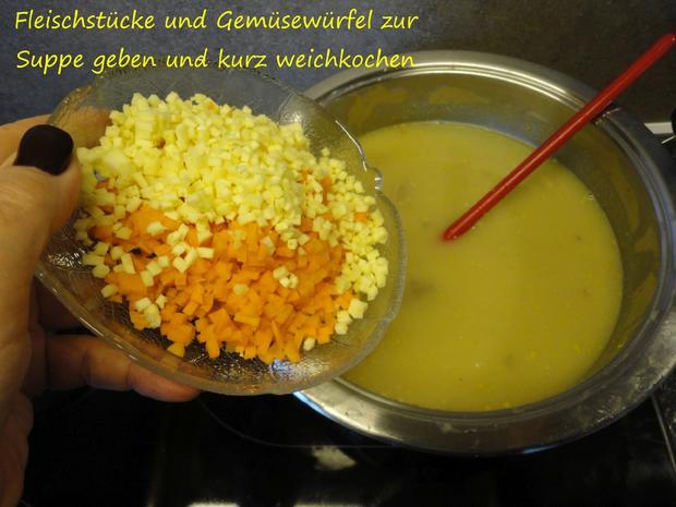 schnelle Gansl Suppe aus Resten - Rezept - Bild Nr. 3319