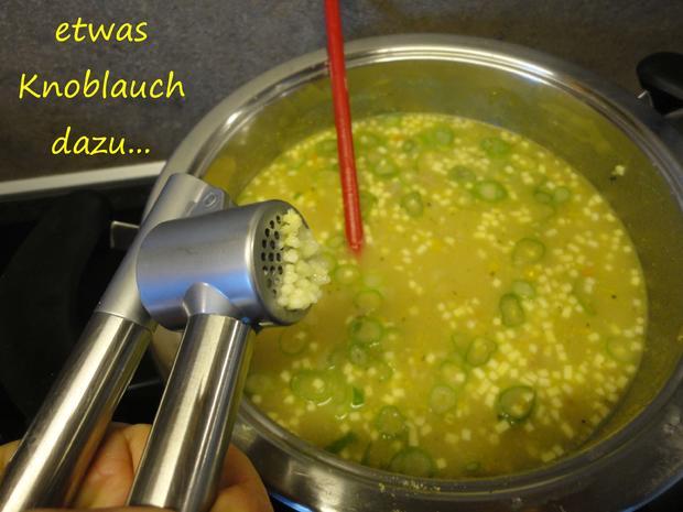 schnelle Gansl Suppe aus Resten - Rezept - Bild Nr. 3321