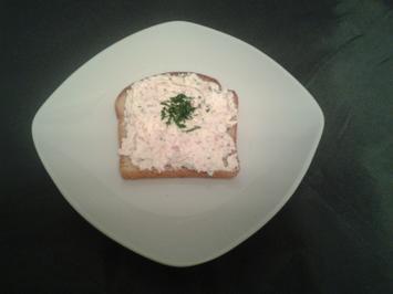 Aufstrich mit Frischkäse (laktosefrei) und Schinken - Rezept - Bild Nr. 3367
