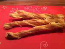 Käsestangen aus Blätterteig - Rezept - Bild Nr. 3359