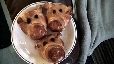 Glücksschweinchen aus Hefeteig - Rezept - Bild Nr. 3359