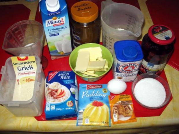 Milchreis Kuchen mit Kirschen - Rezept - Bild Nr. 3388