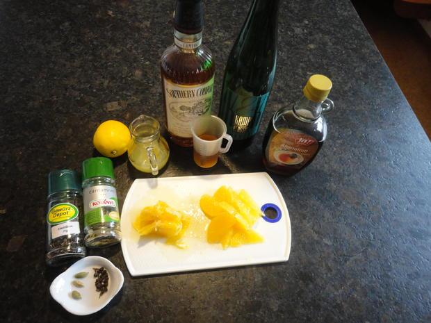 Tapioka Weisswein Orangen Pudding - Rezept - Bild Nr. 3446